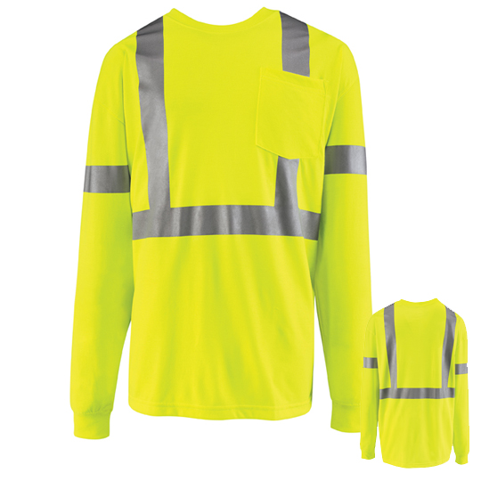 Long Sleeve High Visibility T-Shirt