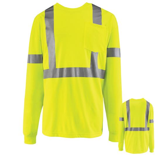 Long Sleeve High Visibility T-Shirt