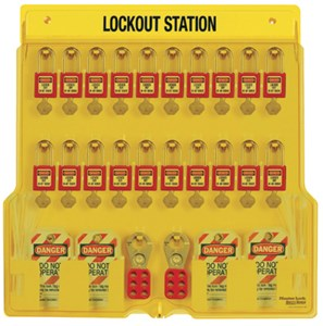 Safety Series 20-Lock Lockout Station