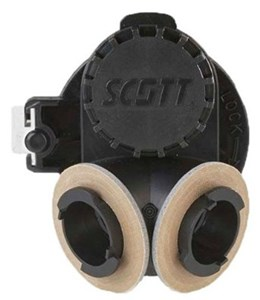 Scott Respirator Twist Lock Adaptor