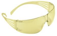 SecureFit Amber Antifog Flexible Glasses