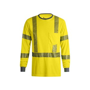 VIZABLE FR Hi-Vis Long Sleeve T-Shirt