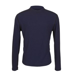 PowerDry Lightweight FR Long Sleeve Tee in Navy