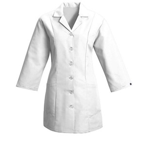 Women's Fitted Smock in White