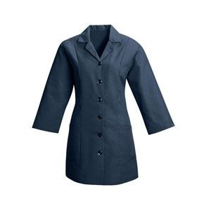 Women's Fitted Smock in Navy