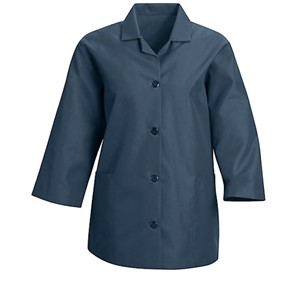 Women's Roomy Smock with 3/4 Sleeves in Light Blue