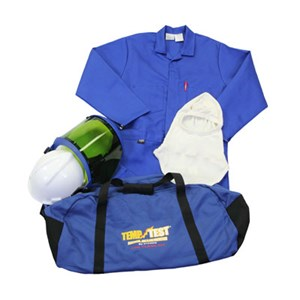 Coverall Arc Flash Kit 12.4 Cal