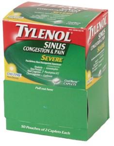 Tylenol Sinus Pain 100-Pack