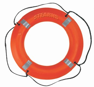 Type IV Ring Buoy w/Reflective Tape OR