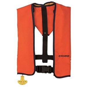 Ultra Manual Inflate Life Vest Orange