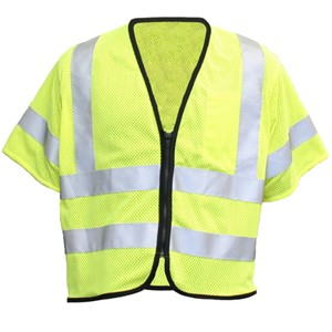 Hi-Vis Flame Resistant Mesh Safety Vest, Class 3