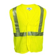 Hi-Vis Flame Resistant Mesh Safety Vest, Class 2, Velcro Closure