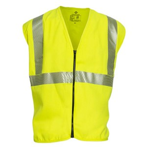 Dual Hazard FR Class 2 Hi-Vis Vest with Zipper