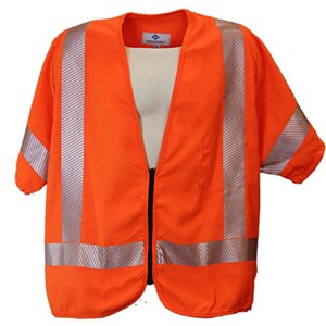 ANSI Class 3 FR High Visibility Vest in Orange