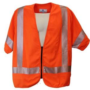ANSI Class 3 FR High Visibility Vest in Orange