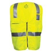 Dual Hazard FR Hi-Vis Deluxe Road Vest