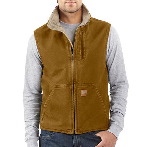 Vendors womenu0027s mock vest sherpa men lined neck carhartt sandstone girls rotita vest