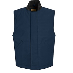 Blended Duck Insulated Vest in Navy Duck