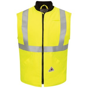 Hi-Vis Insulated FR Vest with Reflective Trim
