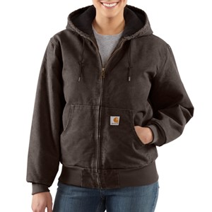 Womens Sandstone Active Jac / Quilted-Flannel Lined