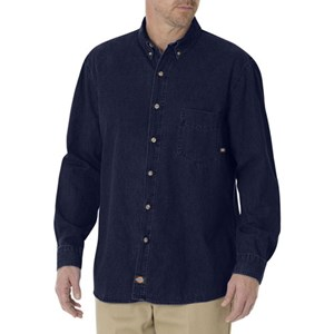 Dickies Long Sleeve Denim Shirt