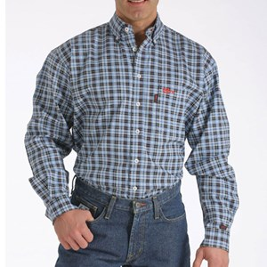 Cinch FR Plaid Work Shirt