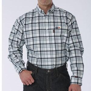 Cinch Plaid FR Work Shirt