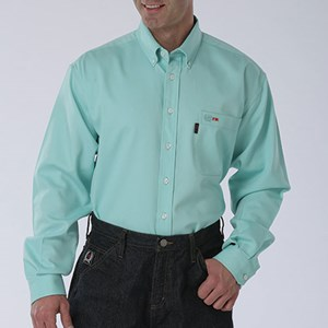 Lightweight FR Work Shirt in Turquoise