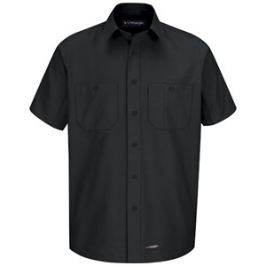Canvas Short Sleeve Work Shirt