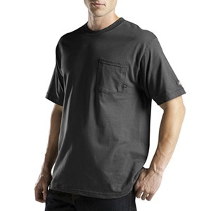 Short Sleeve Pocket Performance Tee with Moisture Wicking