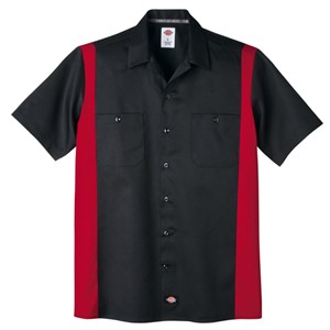 Dickies Short Sleeve Two-Tone Work Shirt