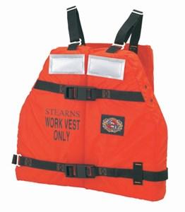 Work Force II Flotation Vest Orange