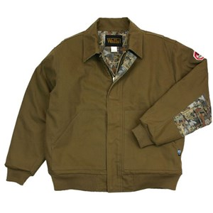 FR Oilfield Camo Insulated Bomber Jacket