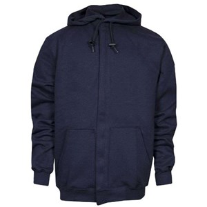 Heavyweight FR Hooded Sweatshirt with Zipper