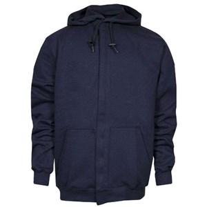 Heavyweight FR Hooded Sweatshirt with Zipper