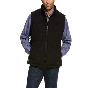 Crius Insulated Vest in Black - LG ONLY