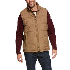 Crius Insulated Vest in Field Khaki - SM & 3X ONLY