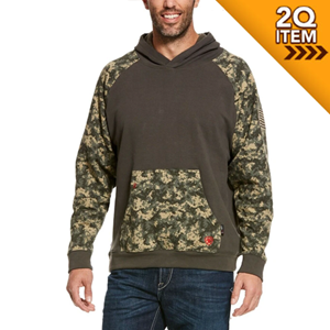 Ariat FR Durastretch Hoodie in Camo