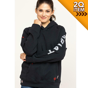 Ariat Women's FR Primo Fleece Hoodie in Black