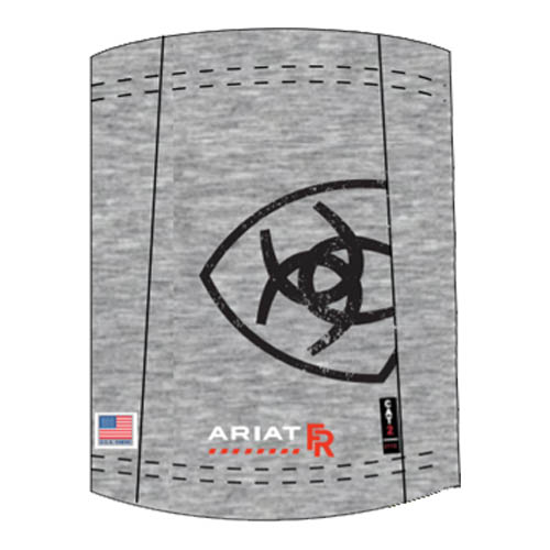 Ariat FR Polartec Neck/Face Gaiter in Heather Gray