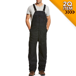 FR Insulated Overall 2.0 Bib in Black