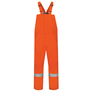 Midweight Excel FR® ComforTouch® Deluxe Insulated Bib Overall with Reflective Trim