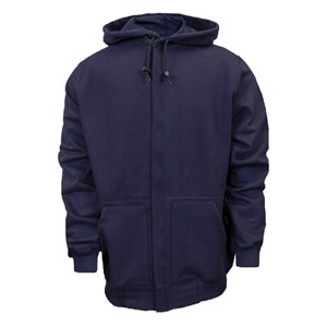 FR Hooded Zip-Front Sweatshirt in UltraSoft Fleece from NSA