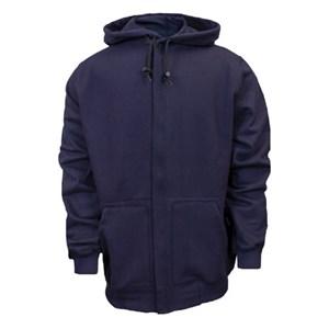 FR Hooded Zip-Front Sweatshirt in UltraSoft Fleece from NSA