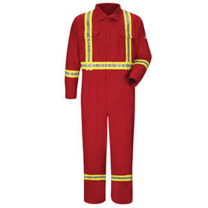 Midweight Nomex FR Premium Coverall with CSA Compliant Reflective Trim