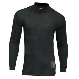 Knit CarbonX Mock Turtleneck Shirt