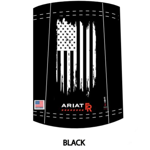 Ariat FR Polartec Neck/Face Gaiter in Black Flag
