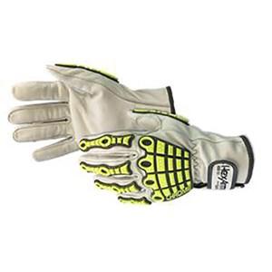 Chrome Series Goatskin Leather Cut Resistant Glove
