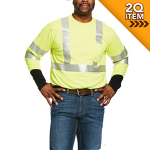 Ariat Hi-Vis FR Long Sleeve Crew