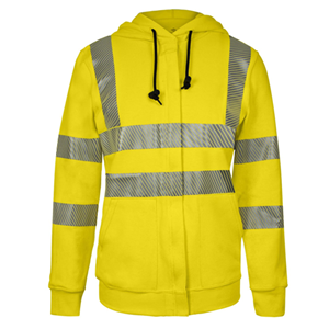 Women's Vizable Flame-Resistant Hi-Vis Zip-Up Sweatshirt